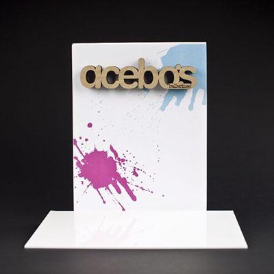 display acebos