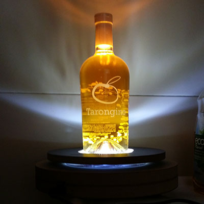 luminosos botella